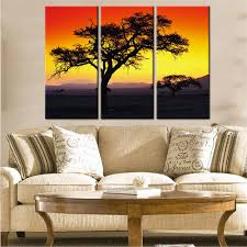Canvas Home Decor Online Get Cheap Landscape Art Print Aliexpress Com Alibaba Group