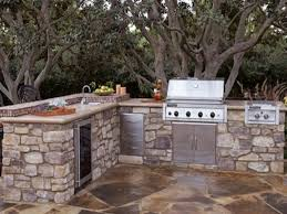 Stainless Steel Doors Outdoor Kitchens - l shaped outdoor kitchen dimensions stainless steel double side