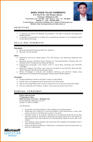 Sample Resume For Computer Science Student by Ideas Collection Sample Resume For Ojt Computer Science Students