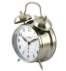 desk alarm clock amazon com sharp spc800 quartz analog twin bell alarm clock