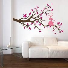 Beautiful Wall Stickers For Room Interior Design 21 Charming Interior Decorating Ideas With Cat Stickers And