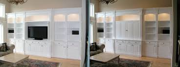 Flat Screen Tv Armoire Built In Cabinetry For Your Flat Screen Tv Made By Custommade