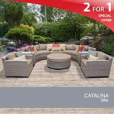 Wicker Rattan Patio Furniture - 8 piece wicker set outdoor rattan patio furniture