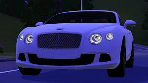 purple bentley fresh prince creations sims 3 2013 bentley continental gt speed
