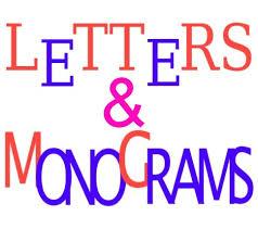 monogram letter s monogram letters for wall or door in wood metal vinyl