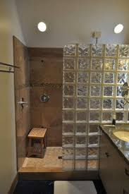 glass block bathroom ideas bathroom showers without glass search home showers