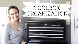 how to organize your toolbox u0026 tools youtube