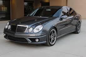 2006 mercedes e55 amg flint grey keyless go dynamic seats bixenon