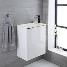 Wall Mounted Vanity Sink Modern White Wall Mount Vanity Sink 20