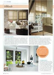 our lovely madison humbug roman blinds are featured in the march