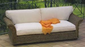 divanetto vimini divano 2 posti in rattan mobili etnici provenzali shabby chic