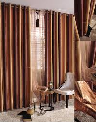 Yellow Stripe Curtains Blind Curtain Lavish Vertical Striped Curtains For Beautiful