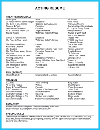 Resume Acting Template Doc Resume Template Creative Resume Free Psd 9 Best Free Resume