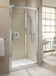 twyford geo6 sliding shower door 1400mm g69503cp