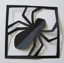 338 best halloween crafts for kids images on pinterest halloween how to make a simple paper spider in its web it would be cool to