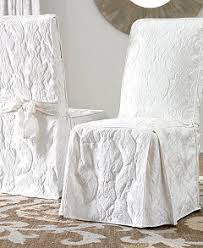 Dining Room Chair Slipcovers by Sure Fit Matelasse Damask Slipcover Collection Slipcovers For