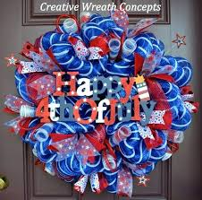 4th of july wreaths awesome handmade of wreath ideas diy 4th of july