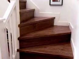 quick step eligna u1043 oiled walnut laminate flooring on stairs