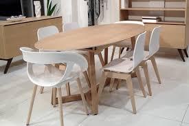 table ovale avec rallonge integree table tables