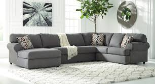 Homelegance Furniture Atlanta Ga Jayceon Steel Left Chaise Sectional Sectionals Living Room