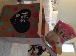 balloons in a box gender reveal baby news diy gender reveal stephanieminix