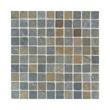 daltile indian multicolor 12 in x 12 in x 8 mm tumbled slate
