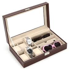 kitchen cabinet packages reviews online shopping kitchen cabinet brown leather eyeglasses jewelry kitchen cabinet organizer display case for sunglasses watch storage collector 33cm 20cm 8cm