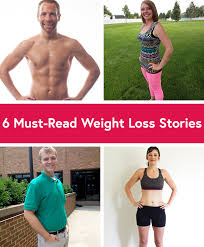 6 weight loss success stories to motivate you right now