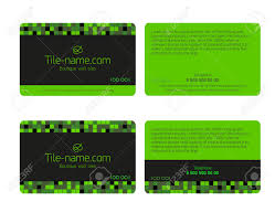creative tile business cards home design image photo under tile