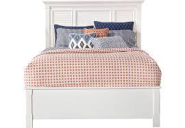 belmar white 3 pc queen bed beds white