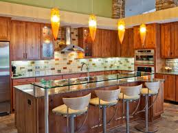 kitchen nice colorful kitchen ideas nice modern varnished wooden