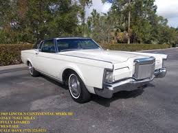 1964 Lincoln Continental Interior 1969 Lincoln Continental For Sale Carsforsale Com