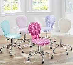 pottery barn desk chair round upholstered desk chair brushed nickel base pottery barn kids