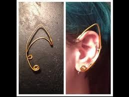 wire ear cuffs diy simple wire fairy ears