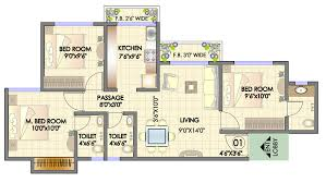 Typical Floor Plans Of Apartments Residency Park Hdil