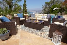 Portofino Outdoor Furniture Mistana Dashawn 6 Piece Sectional Seating Group With Cushion