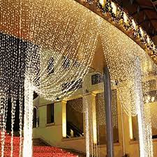 david tutera fairy lights 3m x 3m 4m x65cm led curtain icicle fairy string lights bar