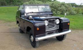 land rover queens driven 1958 series ll royal land rover