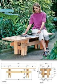 Outdoor Garden Bench Plans by Japanese Garden Bench Plans Outdoor Furniture Plans And Projects