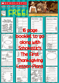 scholastic thanksgiving feast lory u0027s 2nd grade skills november 2014