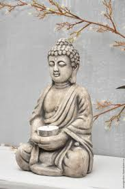 Home Decor Buddha Statue Buy Buddha Sculpture For Home And Garden In Concrete On Livemaster