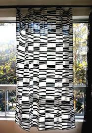 Zebra Curtain Panels 57