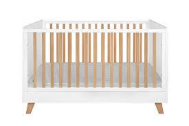 chambre b b natalys ce lit évolutif blanc 70x140 canopée au style épuré et chic est