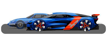 renault alpine concept renault alpine concept sketches didn u0027t change the final fireball
