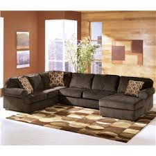 3 sectional sofa with chaise furniture vista chocolate casual 3 sectional with
