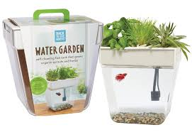 Home Aquaponics Fish Tank Grow Edible Plants With The Water