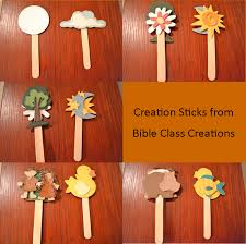 sunday crafts for days of creation bible crafts and