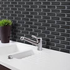 cuisine salle de bains 3d 23 5x28 cm 3d noir brique m osaic wall sticker papier peint