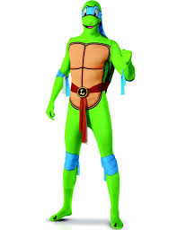 leonardo ninja turtle halloween costume leonardo ninja turtles second skin costume for adults vegaoo