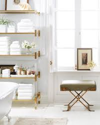 bright bathroom interior with clean clean bright bathroom with stylish accents really liking the
